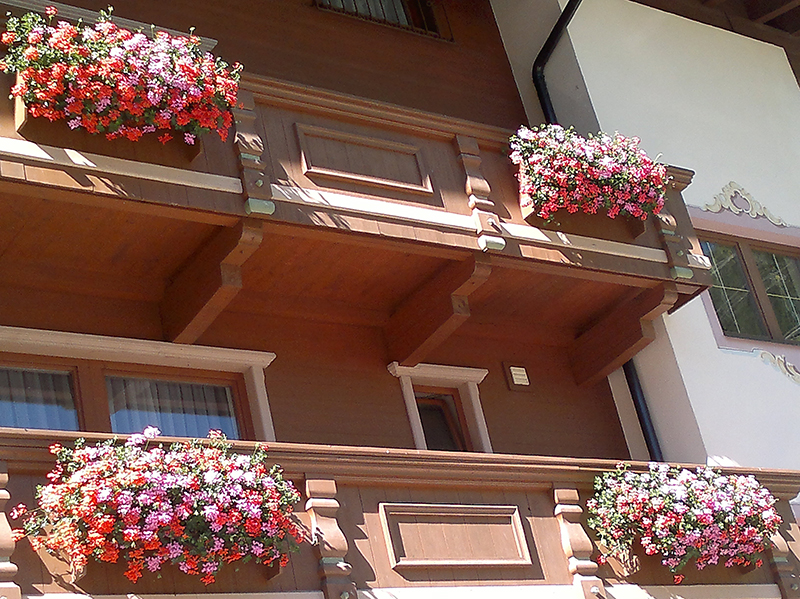 Balkon Appartment A